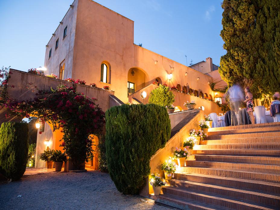 Castillo De Santa Catalina Wedding Venues In Malaga Spain